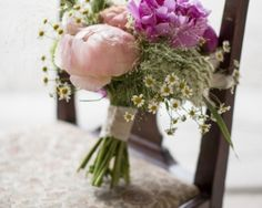 Tipi Vintage Wedding - Flowers