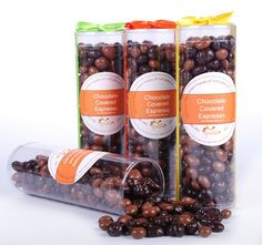 A mixture of creamy milk chocolate and rich dark chocolate covered espresso beans - who doesn't want to start their day with some candy? $12