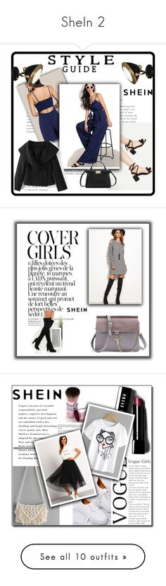 """""""SheIn 2"""" by dilruha ❤ liked on Polyvore featuring Robert Abbey, Bobbi Brown Cosmetics and WALL"""