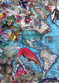 blue-map-detail-3 Kristjana S Williams