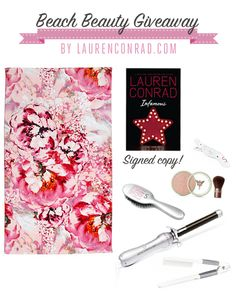 Lauren Conrad's Beach Beauty #Giveaway {click to enter for a chance to win!}
