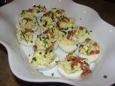 Paleo on Main: Bacon Deviled Eggs