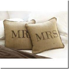 Mr and Mrs! (Or Mrs and Mrs or Mr and Mr, love is love people) ...