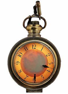 Vintage hanging clock - $475.