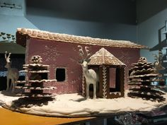 Ginger bread house at Tertin Kartano in Mikkeli Finland