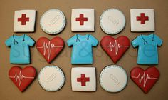 Medical School Graduation Cookies... adorable!