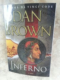 Currently reading and ENJOYING - Dan Brown, The Inferno