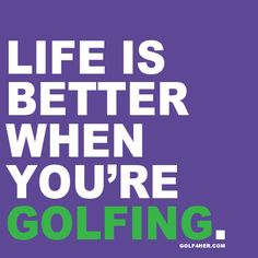 "Who else agrees? | #golf4her | Although this would go on my ""Girls Golf Too"" board, I love to golf w/ my husband! ❤"