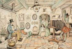 At the photographers by Anton Pieck