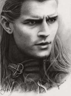 LotR and The Hobbit Drawings by Esteljf on DeviantArt Legolas And Thranduil, Aragorn, Hobbit Art, The Hobbit, Fellowship Of The Ring, Lord Of The Rings, Fanart, Desolation Of Smaug, Into The West
