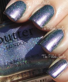 My newest polish - Butter London Knackered. Thanks to The PolishAholic for her super pretty swatches..