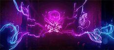 Neon graffiti in Infamous: Second Son!  http://enjoythebits.com/post/81149112444/neon-graffiti-as-seen-in-infamous-second-son#.UzudCa1dWMh