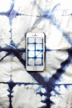 Traditionally called shibori in Japan, the art of dying in indigo is a rising trend thanks to pretty watercolor patterns and dreamy, vibrant color.