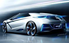 SPORT CARS DESIGN: HONDA SPORT CAR MODEL 1