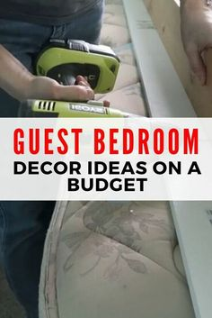 guest room makeover Home Decor Painting Do you want to makeover your guest room Check out these simple DIY projects to learn how to decorate your guest rooms and give them style and functionality. Basement Guest Rooms, Guest Room Decor, Guest Bedrooms, Home Decor Bedroom, Girls Bedroom, Interior Livingroom, Diy Bedroom, Bedroom Furniture, Furniture Ideas