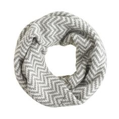 Chevron infinity scarf from JCrew - nice!