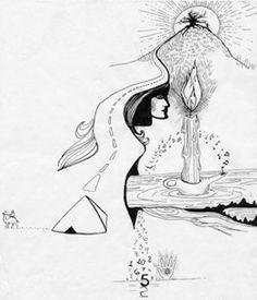 Psychic Drawing - Instructor Shari Scott Spiritual Drawings, Psychics, Psychic Readings, Colorful Drawings, Colouring, Picture Ideas, Cool Art, Spirituality, Sketches