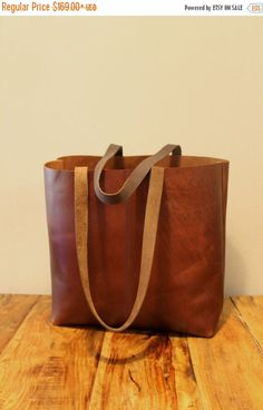Check out Sale! Distressed brown leather tote bag, Leather bucket bag, Vintage Brown Tote, brushed sturdy leather bag on limorgalili Creation Couture, Brown Leather Totes, Vintage Leather, Distressed Leather, Handmade Leather, Leather Handbags, Leather Bags, Leather Briefcase, Pink Leather
