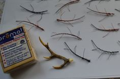making a 1:12 scale Antler Chandelier | Flickr - Photo Sharing!
