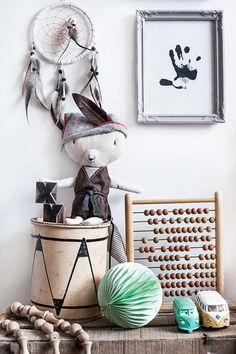 Family Living, Sonny Lous rum, © Anna Malmberg Baby Bedroom, Baby Room Decor, Kids Bedroom, Nursery Decor, Bedroom Green, Bohemian Kids, Deco Kids, Deco Originale, Nursery Inspiration