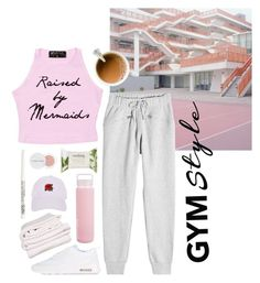 """work it out + a little thanks!"" by vi-ntage ❤ liked on Polyvore featuring adidas, Sunnylife, NIKE, Brahms Mount, Herbivore, Forever 21, Armitage Avenue, contest, Pink and gym"