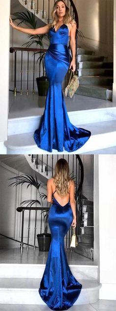 sexy mermaid long prom/evening dress #promdresses #promdress #longpromdress #sexypromdress