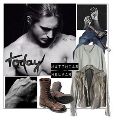 """""""Today"""" by anne-977 ❤ liked on Polyvore featuring NUÉ NOTES, Zadig & Voltaire, men's fashion and menswear"""