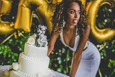Stunning alternative bride and the cake! Alternative Bride, Offbeat Bride, Bride Hairstyles, Destination Wedding Photographer, Real Weddings, Our Wedding, Brides, Wedding Photos, Pure Products