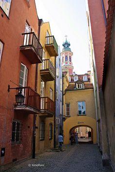 Varsovia (Polonia)  El centro histórico de la capital