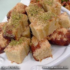 كيك الكنافة - مطبخ منال العالم
