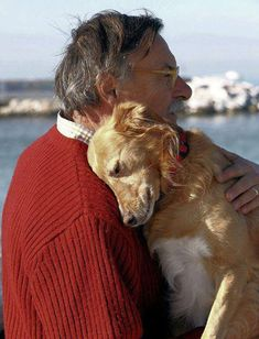 """""""Head down hug"""" feels like devotion when you feel your dog cuddle that close to you."""
