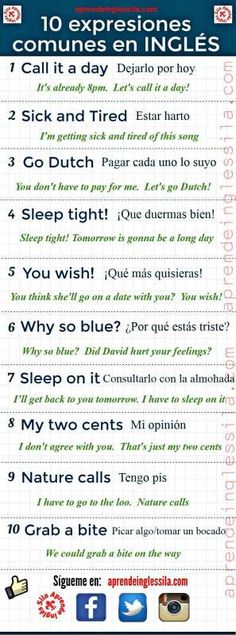 How easy is it to learn spanish how to learn spanish language through english,i want to learn spanish learn spanish in cuba,learn to speak spanish for beginners learning spanish like crazy. Spanish English, English Idioms, English Phrases, English Study, English Words, English Grammar, Teaching English, Learn English, English Language