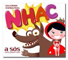 Calcinha Comestível Nhac Sabor Chocolate - Fabricante, Importador e Distribuidor de Artigos Eróticos