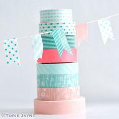 25 fabulous uses for washi tape on iheartnaptime.com -so many great craft ideas!