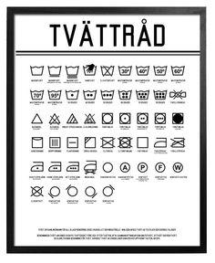 """""""Tvättråd"""" - Poster - TAVLOR & POSTERS"""