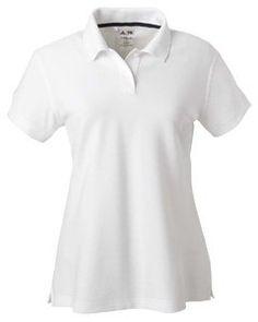 adidas Golf Ladies ClimaLite Tour Pique Short-Sleeve Polo - WHITE/BLACK - S adidas. $27.45