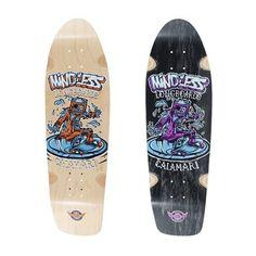 Mindless Calamari II Longboard Deck