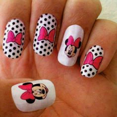 #minnie #maus #nail #design