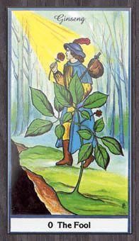The Herbal Tarot Tarot Deck
