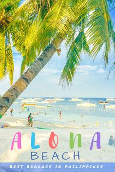 Philippines has some of the most beautiful beaches in the world. We review Alona Beach in the province of Bohol, one of the best. War Photography, Types Of Photography, Aerial Photography, Wildlife Photography, Landscape Photography, Most Beautiful Beaches, Beautiful Places, Beautiful Pictures, Beaches In The World