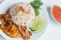 Diah Didi's Kitchen: Nasi Hainan Ayam Panggang Ala Kongbap