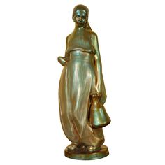 "Zsolnay figurine ""Water Carrier from Constantinaples"" c. 1921"