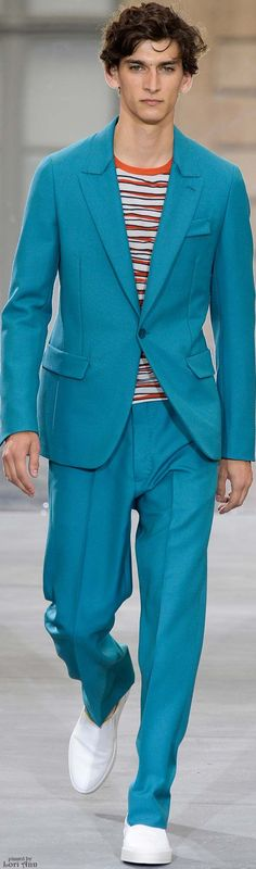 Berluti Spring 2016 | Men's Fashion | Menswear | Smart Casual Style | Moda Masculina | Shop at designerclothingfans.com