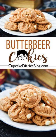 Harry Potter Butterbeer Cookies Recipe - Cupcake Diaries