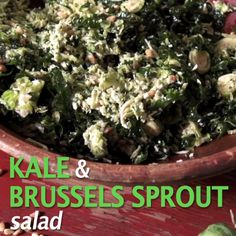 Hot or cold, Nancy's Kale and Brussels Sprout Salad is a foolproof side dish.