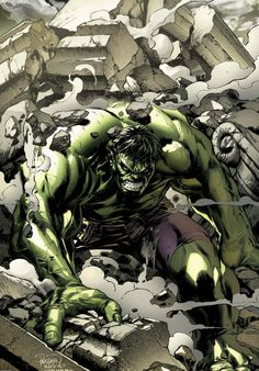 Incredible Hulk by Carlo Pagulayan