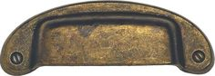"""View the Bosetti Marella 100297 Vintage Series 1.25"""" Center to Center Brass Cup Pull at PullsDirect.com."""