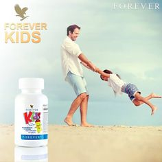 Give your kids the nutrients they need each day with Forever Kids® Chewable Multivitamins.