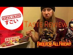 Taste Review: Japan Crate March 2016..Free For All Friday #6