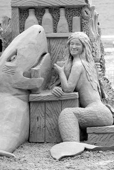 88 Incredible Sand Sculptures | ChicagoNow Arts & Entertainment -THAT'S SAND?! Woa!